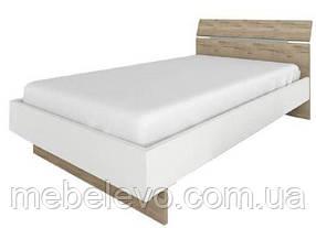 Кровать Спектр 120 895х1278х2113мм дуб галифакс + белый Сокме