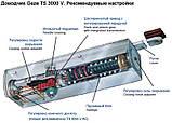Доводчик Geze TS 3000 V з ковзною тягою (коричневий), фото 9