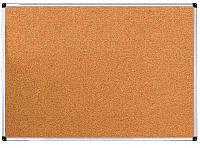 Доска пробковая 100х150 cм.в алюминиевой рамке UkrBoards (UB100x150C), фото 1