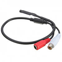 Микрофон для камеры видеонаблюдения Ritar AM16 под RCA