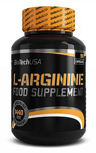 Аргинин BioTech USA L-Arginine 90 caps