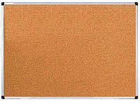 Доска пробковая 120х180 cм. в алюминиевой рамке UkrBoards 1.2x1.8 м., фото 1