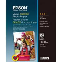 Фотобумага EPSON 10х15 Value Glossy Photo 100 листов