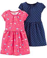 Набор из двух качественных платьев Картерс для девочки