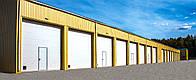 Промышленные секционные ворота DoorHan ISD01 2,8м*2м, фото 1