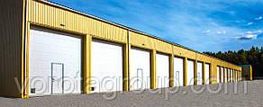 Промышленные секционные ворота DoorHan ISD01 2,8м*2м