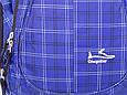 Мужской городской рюкзак Onepolar W1572-blue 27 л, фото 5