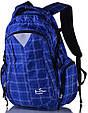 Мужской городской рюкзак Onepolar W1572-blue 27 л, фото 2