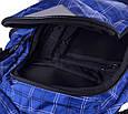 Мужской городской рюкзак Onepolar W1572-blue 27 л, фото 7
