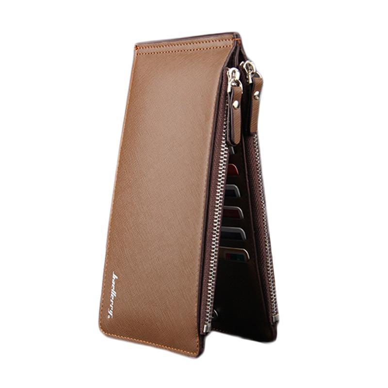 Чоловічий гаманець BAELLERRY Card Holder портмоне Коричневий (SUN4202)