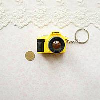 Миниатюра Фотоаппарат 4*5*3 см ЖЕЛТЫЙ, фото 1