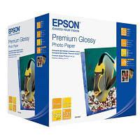 Фотобумага Epson, глянцевая, A6 (10x15), 255 г/м2, 500 л, Premium Series