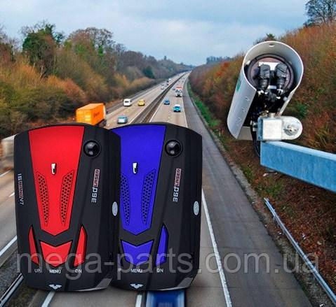 Автомобильный Антирадары  Radar Detector Русский голос  Авто 360 градусов светодиодный Дисплей 16 BAND V7