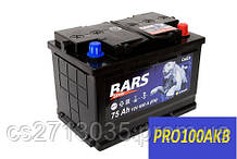 Автомобильный аккумулятор Bars silver 75 Ач 650 А (0) R+