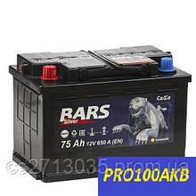 Автомобильный аккумулятор Bars silver 75 Ач 650 А (1) L+