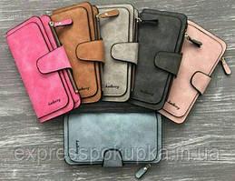 Модное Женское портмоне кошелек Baellerry Forever | Пудровый, Мятный