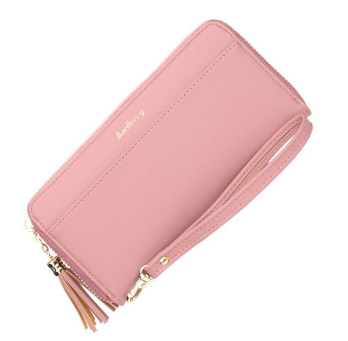Жіночий гаманець BAELLERRY Ladies New Long клатч Рожевий (SUN4207)
