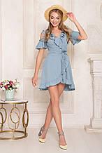 54965bc8396 Яркое нарядное платье летнее с рюшами