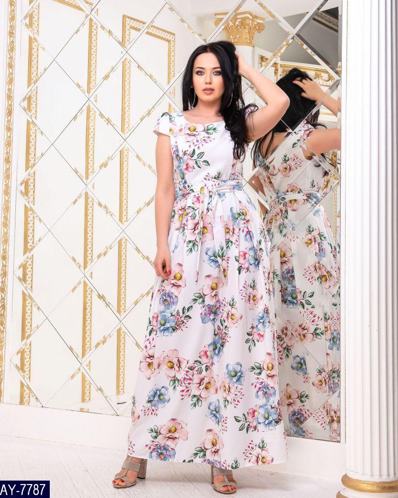 Нарядное платье      (размеры 48-52)  0177-96