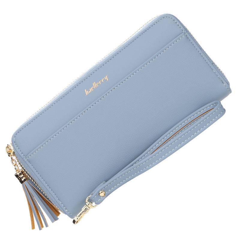 Жіночий гаманець BAELLERRY Ladies New Long клатч Блакитний (SUN4210)