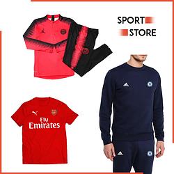 Футбольная одежда (костюмы, футболки, кофты)