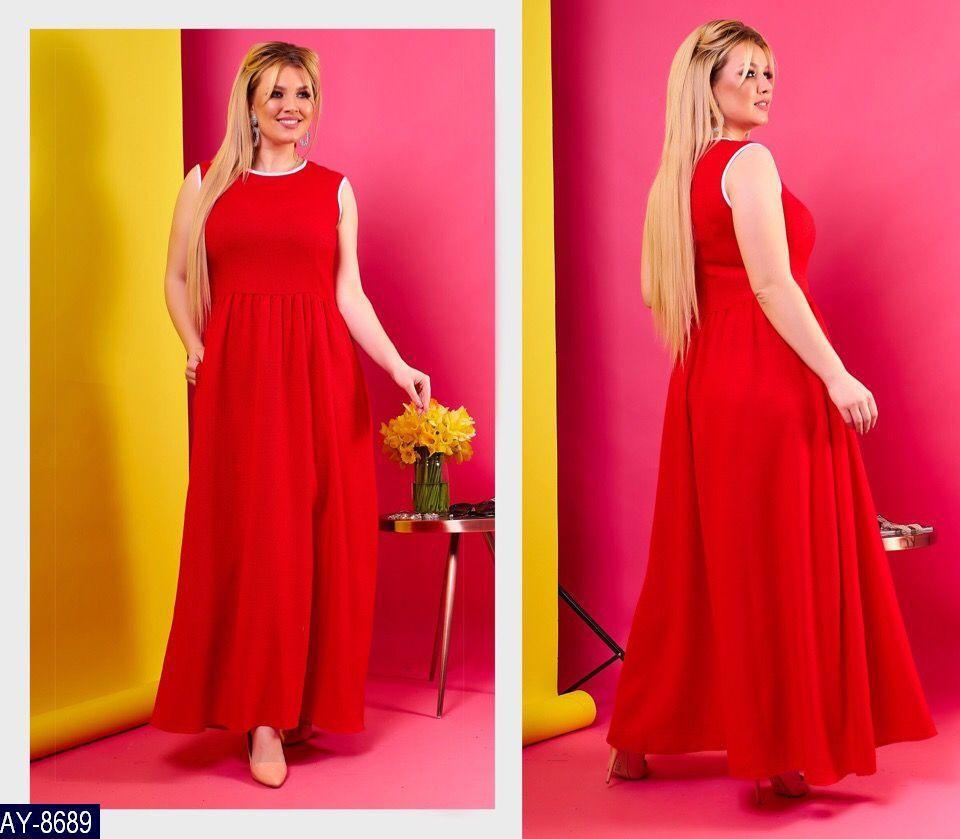 Нарядное платье      (размеры 48-58)  0178-02