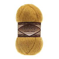Пряжа Alize Angora gold simli 02 для ручного вязания