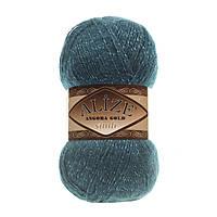 Пряжа Alize Angora gold simli 17 для ручного вязания
