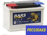 Автомобильный аккумулятор Bars gold 77 Ач 660 А (0) L+