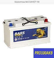 Автомобильный аккумулятор Bars gold 100 Ач 780 А (0) L+