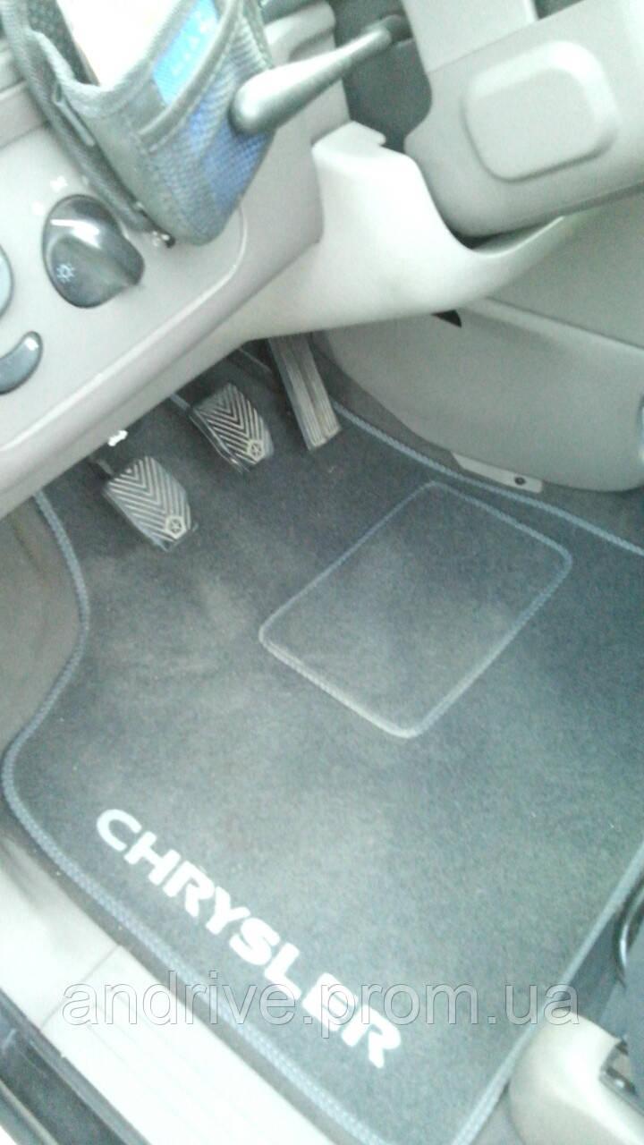 Текстильные ковры в салон Chrysler Voyager 1995-2006 ворсовые