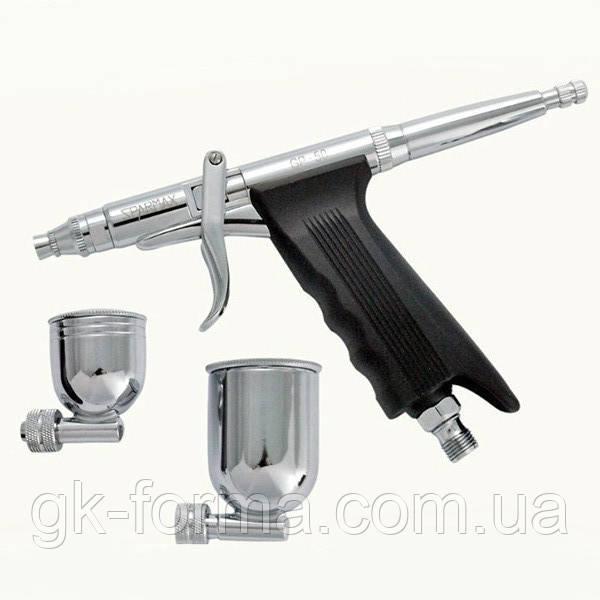 Аэрограф пистолетного типа с боковой подачей Sparmax GP-50
