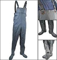 Заброди вейдерси Рибальські чоботи штани для рибалки Сапоги заброды Рибацький комбінезон 40-41-42-43-44-45-46р