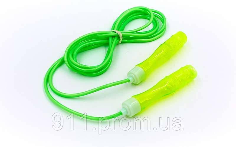 Скакалка детская с ароматом PVC жгутом FI-4866