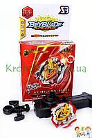 Игрушка BeyBlade Z Achilles B-105 / Бейблейд Зет Ахиллес (красный с серебристым) SB