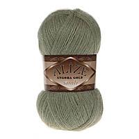 Пряжа Alize Angora gold simli 398 для ручного вязания