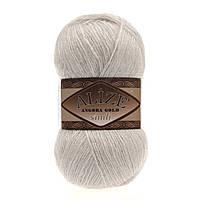 Пряжа Alize Angora gold simli 599 для ручного вязания