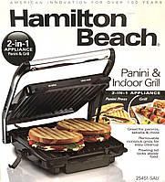 Гриль электрический 2 в 1 (Hamilton Beach)