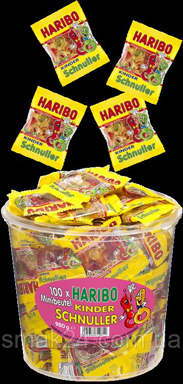 Желейні цукерки Дитяча соска Haribo Kinder Schnuller (фруктовий мікс) 9,8 м Німеччина
