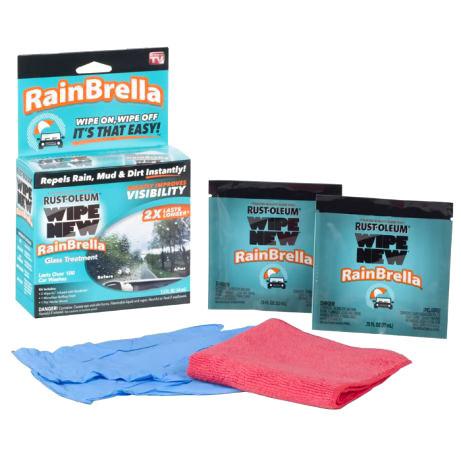 Антидождь Жидкость для защиты стекла от воды и грязи Rain Brella