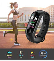 Фитнес браслет Xiomi Mi Band 3 смарт часы Спортивный трекер м2, фото 1