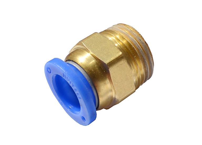 Быстросъемное соединение с наружной резьбой 1/2 под шланг 12 мм