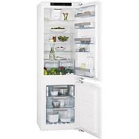Встраиваемый холодильник с морозилкой AEG SCT81800F0