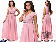 Нарядное платье      (размеры 48-52)  0178-34, фото 1