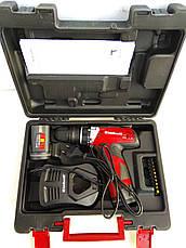 Аккумуляторный шуруповерт Einhell ExpertTE-CD 12 X-Li быстросъемный патрон, фото 2