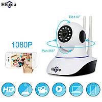 Wi-Fi беспроводная домашняя охранная ip-камера видеонаблюдения с АР Hiseeu FH-1C 1080 P Ночное видение. YooSee