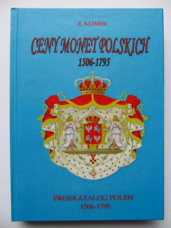 Каталог-цінник монет польських 1506-1795/ З. Клімек/ 2001