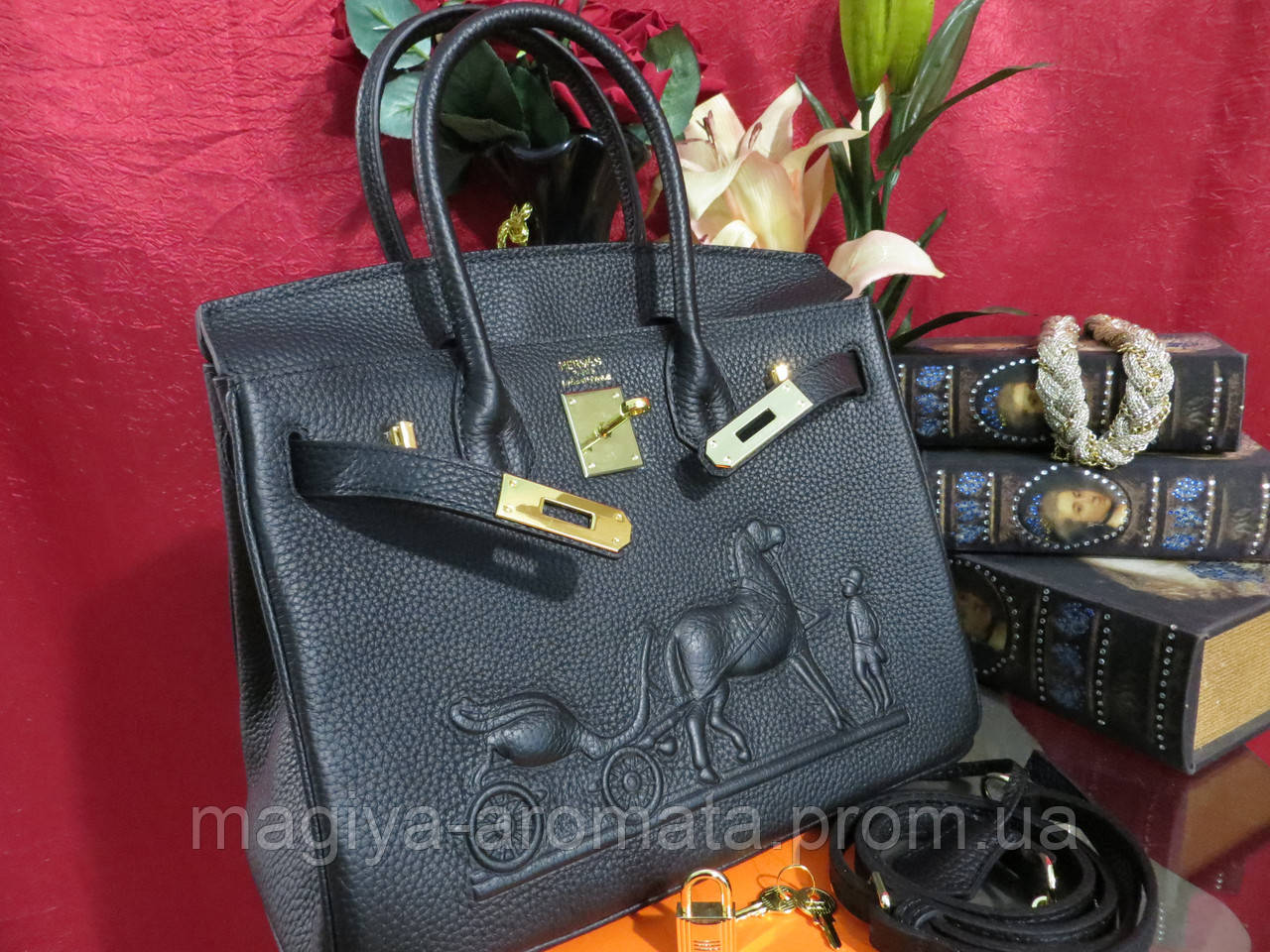 6bbe113e991d Женская шикарная сумка Hermes Birkin 30 см Original quality - Магия Аромата  - Парфюмерия, Брендовые