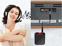 Беспроводной Bluetooth адаптер приемник передатчик. (Наушники к тв)