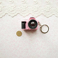 Миниатюра Фотоаппарат 4*5*3 см РОЗОВЫЙ, фото 1